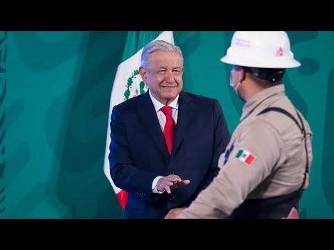 Inicia venta de Gas Bienestar en la Ciudad de México. Conferencia presidente AMLO