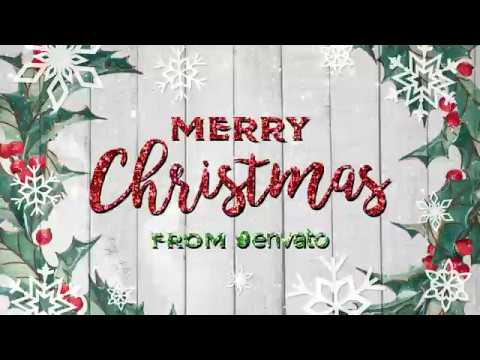 after-effects-template:-upbeat-christmas-greetings-+-free-font-download