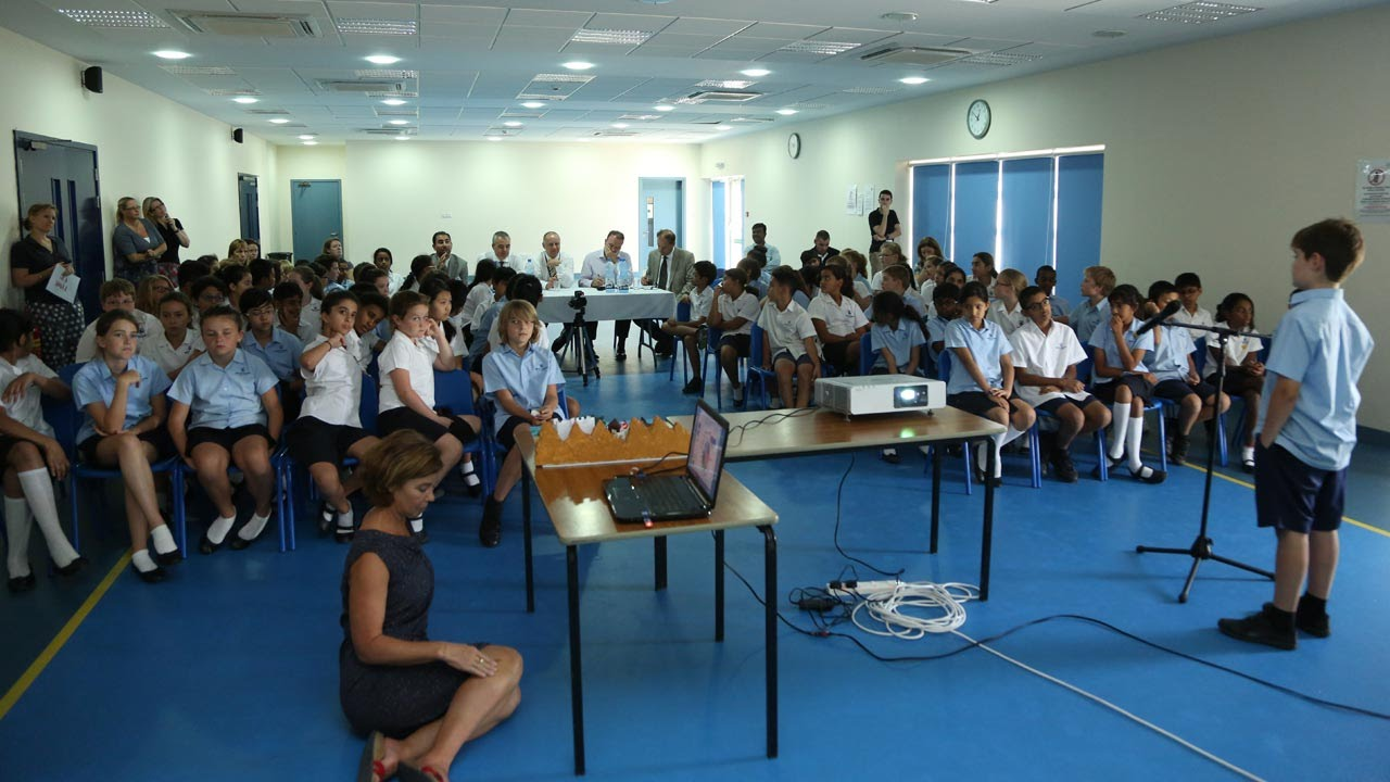 Dragon Den Project at the British School Muscat