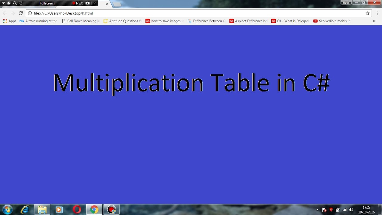 Multiplication table program in c for beginners youtube multiplication table program in c for beginners gamestrikefo Image collections