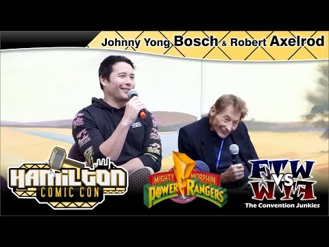 Johnny Yong Bosch & Robert Axelrod (Power Rangers) Hamilton Comic Con 2017 Full Panel