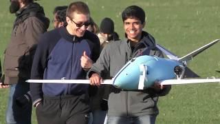 LiU students design tomorrow's aircraft