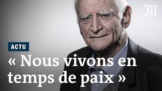 Mort de Michel Serres : rencontre avec le philosophe