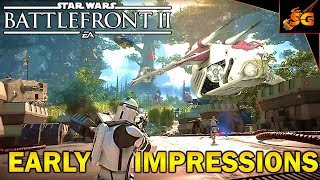 BEST MULTIPLAYER GAME THIS YEAR? Star Wars Battlefront 2 XBOX ONE X Early Impressions - EA Access