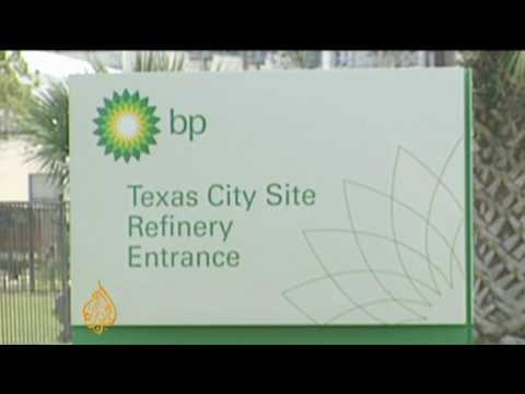 BP cap plugs Gulf oil leak