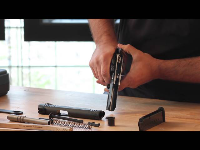 How to Maintain & Care for your Taurus 1911