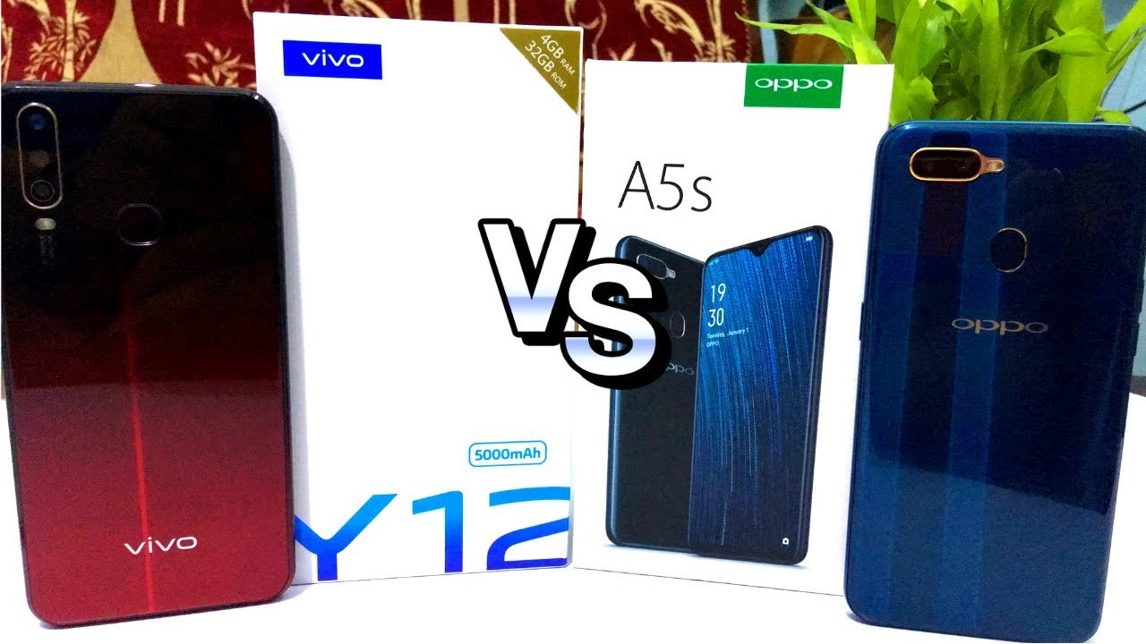 Vivo Y12 Vs Oppo A5s L Unboxing L Review L Camera L Battery दमद र क न Youtube