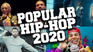 TOP 50 Most Popular Hip-Hop Songs of 2020 (Until August)
