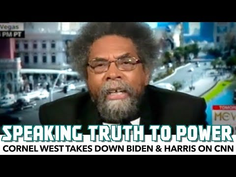 Cornel West Takes Down Joe Biden & Kamala Harris On CNN
