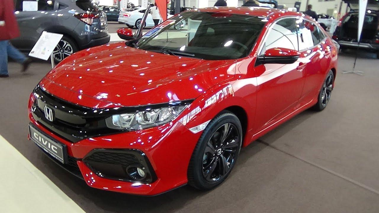 2018 Honda Civic 1.0 VTEC Turbo Elegance - Exterior and ...