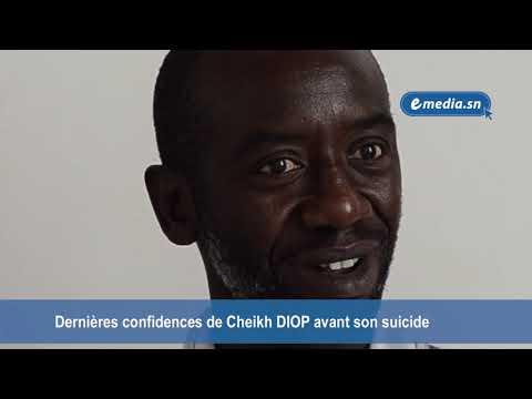 Emediasn : Dernières confidences de Cheikh DIOP avant son suicide