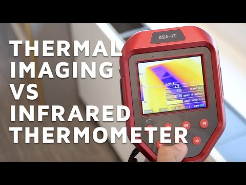 Thermal Imaging Vs Infrared Thermometer   Types Of Thermal Imagers