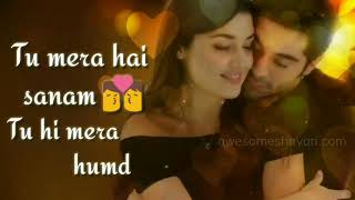 Tu Mera Hai Sanam   Heart touching song   WhatsApp status 30 sec video 2