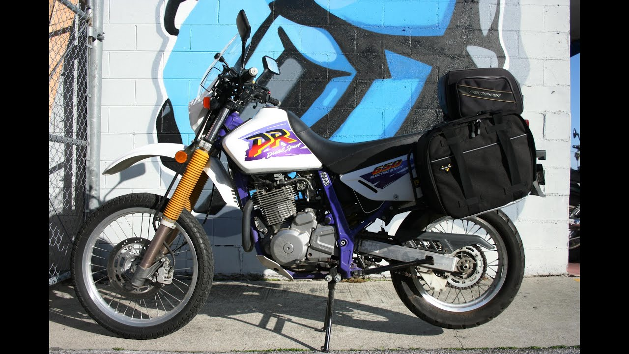 1996 Suzuki DR650 SE Dual Sport Motorcycle For Sale