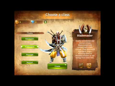 Dungeon Hunter 4 Characters First Look