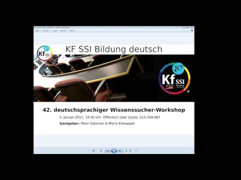 2017 01 05 PM Public Teachings in German - Öffentliche Schulungen in Deutsch