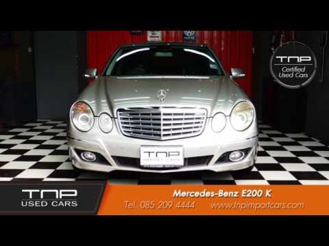 รถมือสอง Mercedes-Benz E200 K by TNP Used Cars