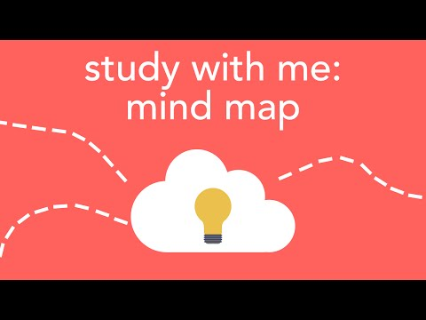 study with me: mind map