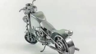 Video How to make toy bike with the use of nut and bolts. download MP3, 3GP, MP4, WEBM, AVI, FLV Juni 2018