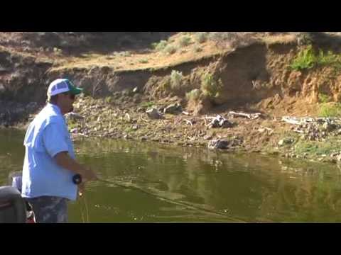 Fly fishing for crappie on brownlee reservoir youtube for Brownlee reservoir fishing report
