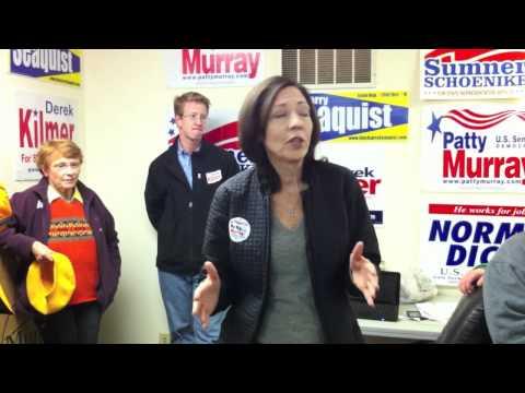 Maria Cantwell Endorses Sumner Schoenike