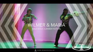 Wilmer and Saria Show at Baila Baila Summer Festival