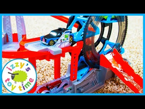 Cars for Kids! Hot Wheels Turbo Garage! Fun Toy Cars for Kids