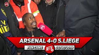 Arsenal 4-0 Standard Liege | Martinelli Is Our Neymar!!