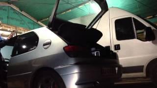 306 hdi test échappement ( CD Motorsport )