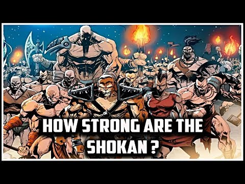 How Strong Are The Shokan? Mortal Kombat Lore thumbnail