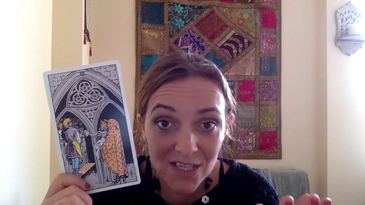 Tiffany Talks Tarot 54 - The Three of Pentacles