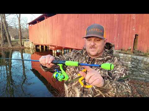 Hotest Crappie Fishing Rod & Reel🔥Review Lew's Wally Marshall Speed Shooter 🎣
