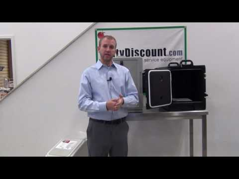 Cambro High Heat Pans And Carriers Demo