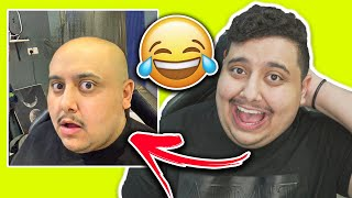 تحدي الضحك 😂!! ( ا إذا ضحكت تحلق صفر 😨!! اتحداك ما تضحك ! )