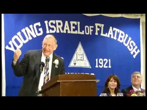 More Maish Laughs As Maish Goldish Accepts Menorah Award