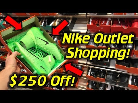 Cheapest Superfly 5 Ever! - Nike Outlet Football Boots/Soccer Cleats Shopping!