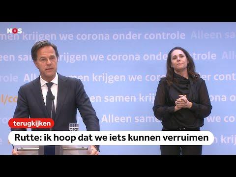 LIVE: Rutte en De Jonge over coronacrisis