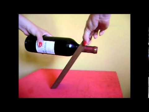Soporte de madera para botellas de vino wmv youtube - Muebles para poner botellas de vino ...