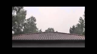 Schweres Unwetter in Arendsee - 27.07.2014