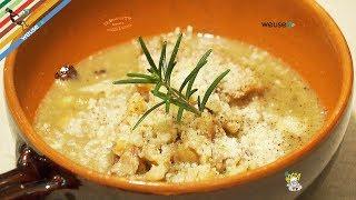 254 - Zuppa di castagne o Brodolese...per la pancia un bell'arnese! (primo piatto nutriente facile)