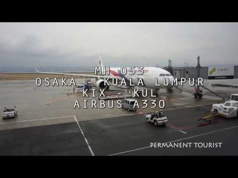 Malaysia Airlines MH53 Osaka - Kuala Lumpur