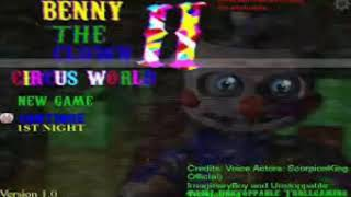 Benny the clown circus World 2 them song