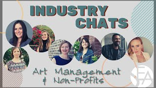 Industry Chat: Non Profits and Art Management