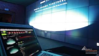 Видео отчет с презентации премиальной коллекции телевизоров Samsung SUHD c изогнутым экраном.(Гефест Проекция предоставила в аренду 35 панелей orion 46