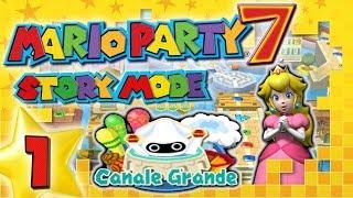 MARIO PARTY 7 🎲 #1: Duell-Kreuzfahrt (Story Mode) - Blitzschnell durch Canale Grande