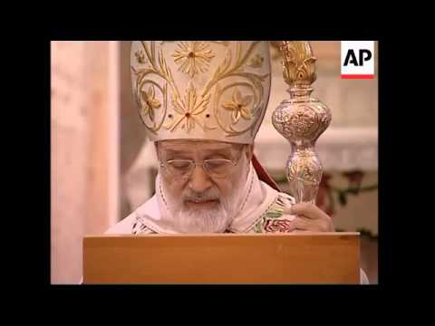 Christian Maronite Patriarch attends service, Hezbollah comment