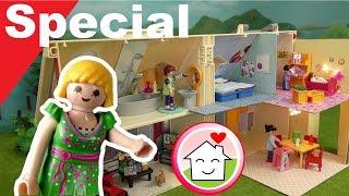 Playmobil Mitnehm  Puppenhaus 5167 Pimp my PLAYMOBIL  Unboxing von Familie Hauser