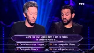 Qui veut gagner des millions du 25 juillet Cyril Hanouna et Jean Luc Lemoine
