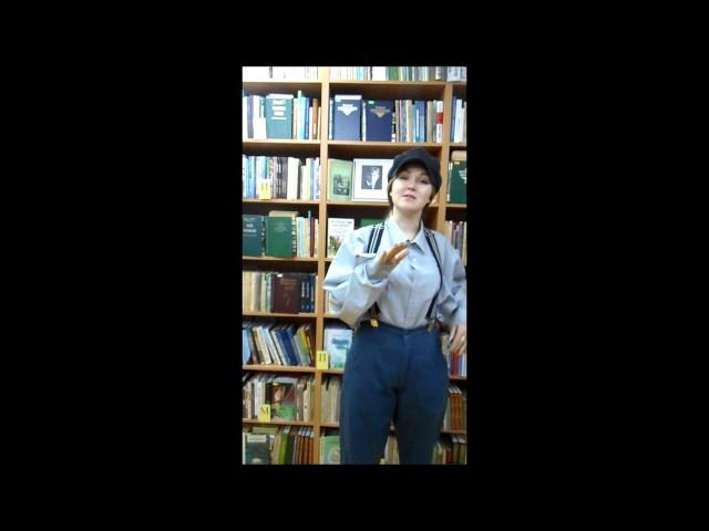 Изображение предпросмотра прочтения – ЕкатеринаБиктякова читает произведение «Заметался пожар голубой» С.А.Есенина