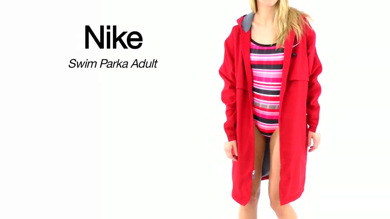 Nike Swim Parka Adult | SwimOutlet.com - YouTube